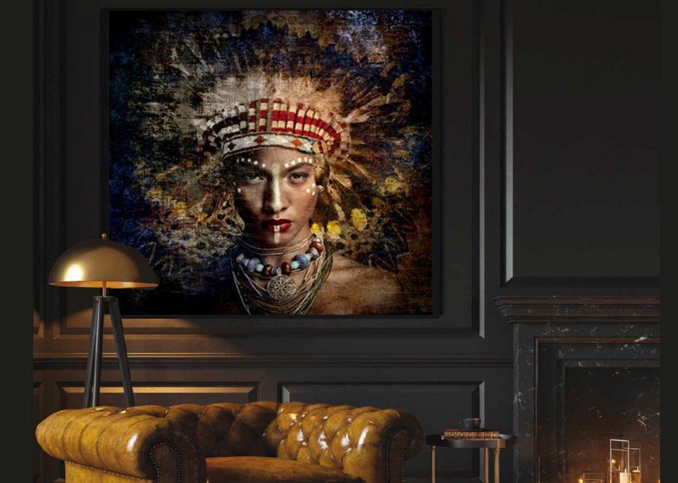 Foto 14: schilderij Cobra Art